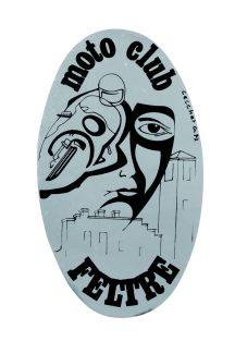Logo Moto Club Feltre - Gabriella Cecchet